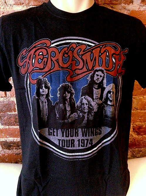Aerosmith Get Your Wings Tour 1974