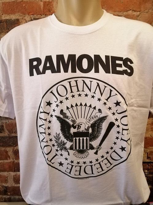 Ramones Hey Ho Lets Go Branca