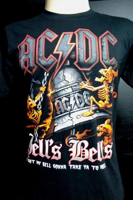 Tuta Shirts Kids ACDC Hell's Bells