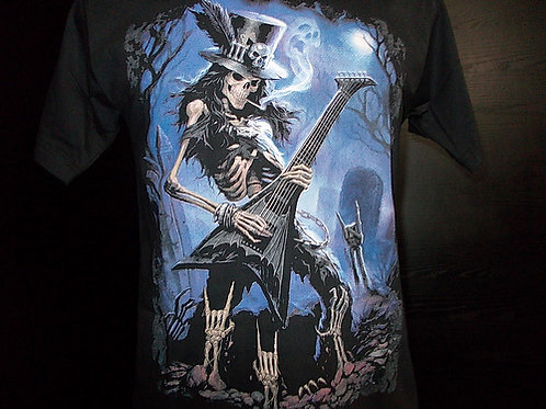 Caveira Guitarra Slash