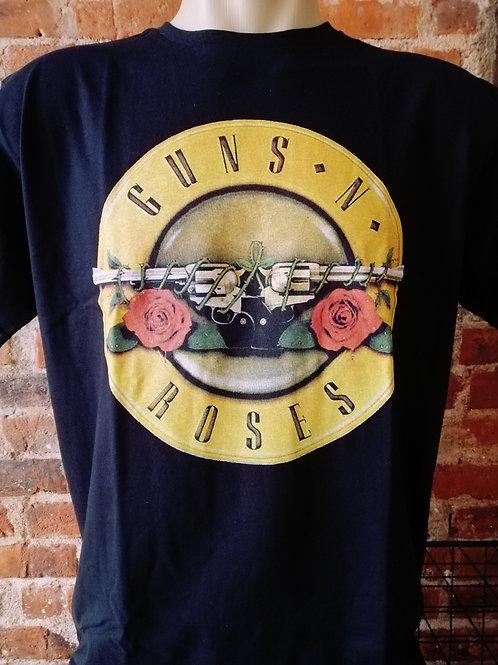 Guns'n Roses Logo Amarelo