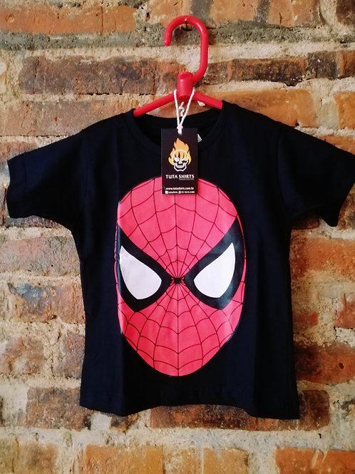 Tuta Shirts Kids Homem Aranha