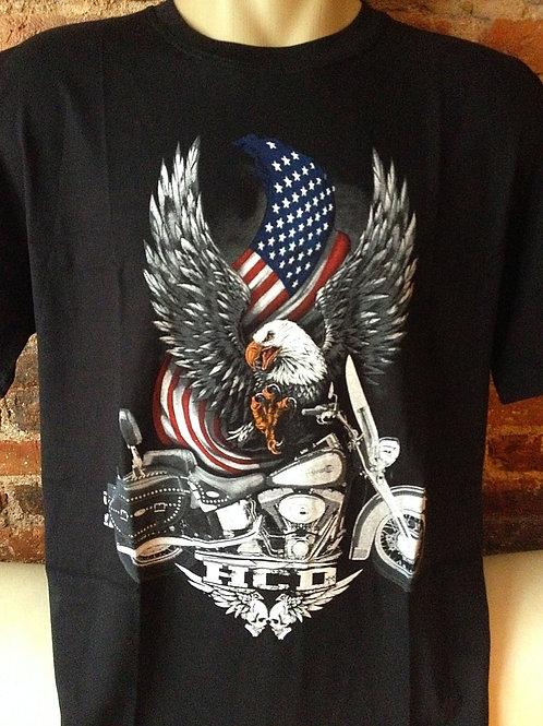 Tuta Shirts Águia Moto USA