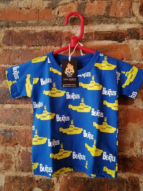 Tuta Shirts Kids The Beatles Yellow Submarine
