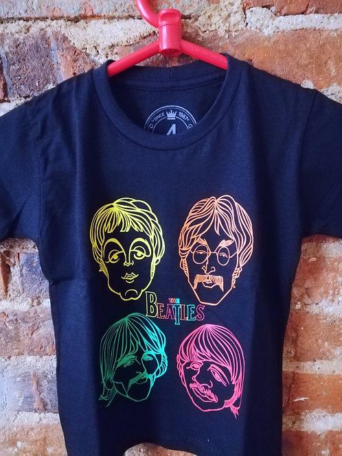 Tuta Shirts Kids Beatles Carinhas