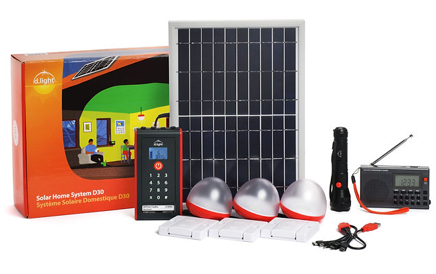 D30 Flagship Solar Home System
