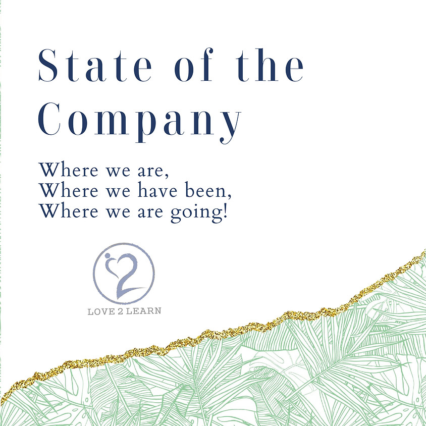 State of the Company for Q1 of 2021