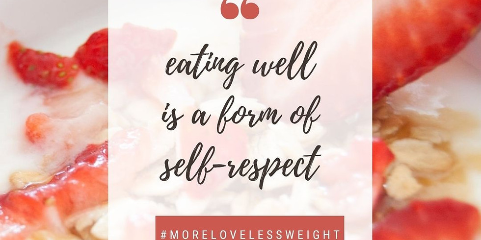 MORE LOVE LESS WEIGHT