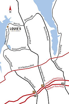 Map to Louie's