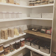 Last week's pantry project- SO much fun!