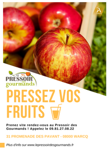 Pressage des pommes