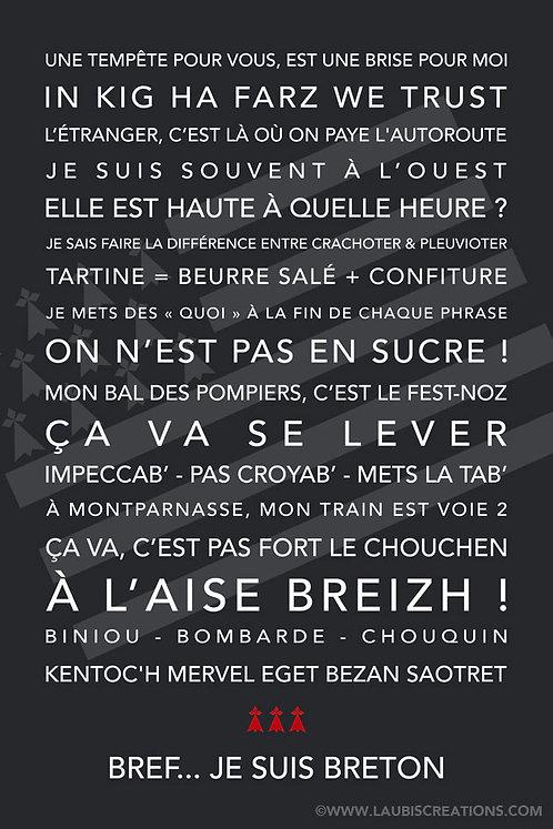 Bref... je suis Breton
