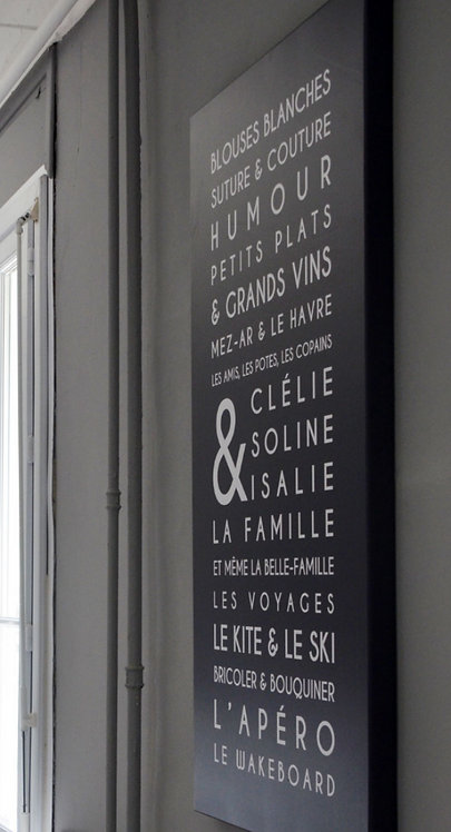 Tableau Luxe Trendy (châssis large)