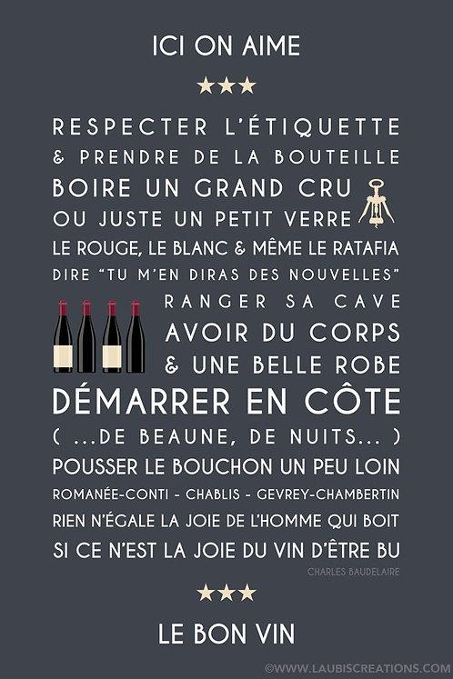 Le Bon vin - Bourgogne