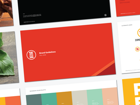 Zume Pizza Brand Guidelines