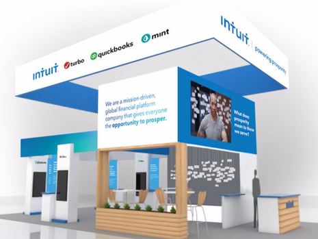 Intuit Exhibition Booth