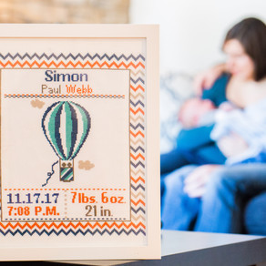 Webster Groves Lifestyle Newborn Session