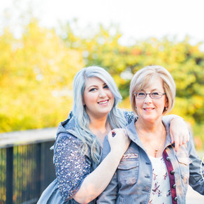 Mother-Daughter Forest Park Session