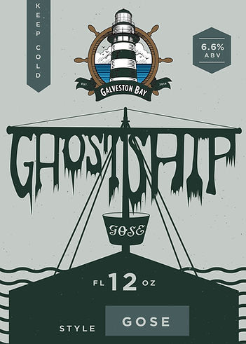 Ghostship Gose Label