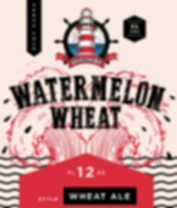 Watermelon Wheat Label