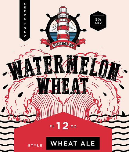 Watermelon Wheat Label