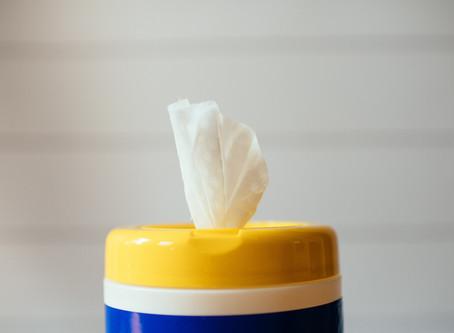 Как сами да си направите дезинфекциращи кърпички