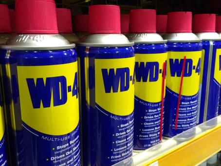 Почистване с Универсална Смазка WD-40? Резултатът е гарантиран! :)