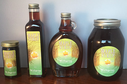 Maple Syrup by the bottle