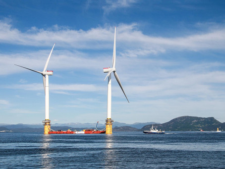 U.S., California Look to Develop Wind Farms Off Pacific Coast