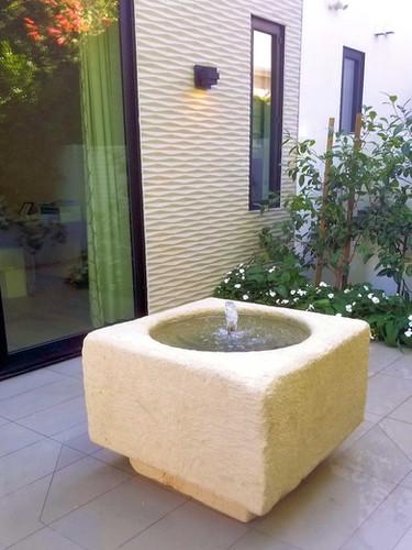 Wellhead Fountain w/ Base
