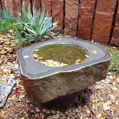 Basalt Basin Bird Bath