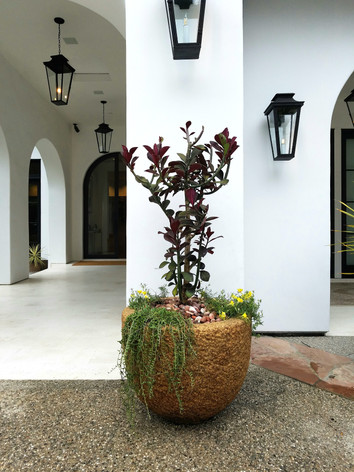 Granite Planter