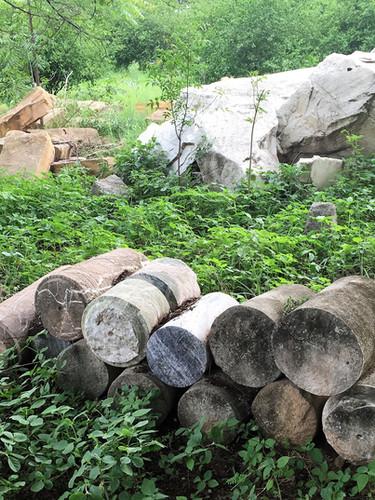 India workshop stone cores .jpg