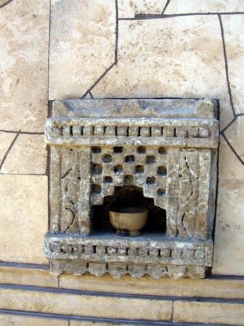 Carved Stone Niche