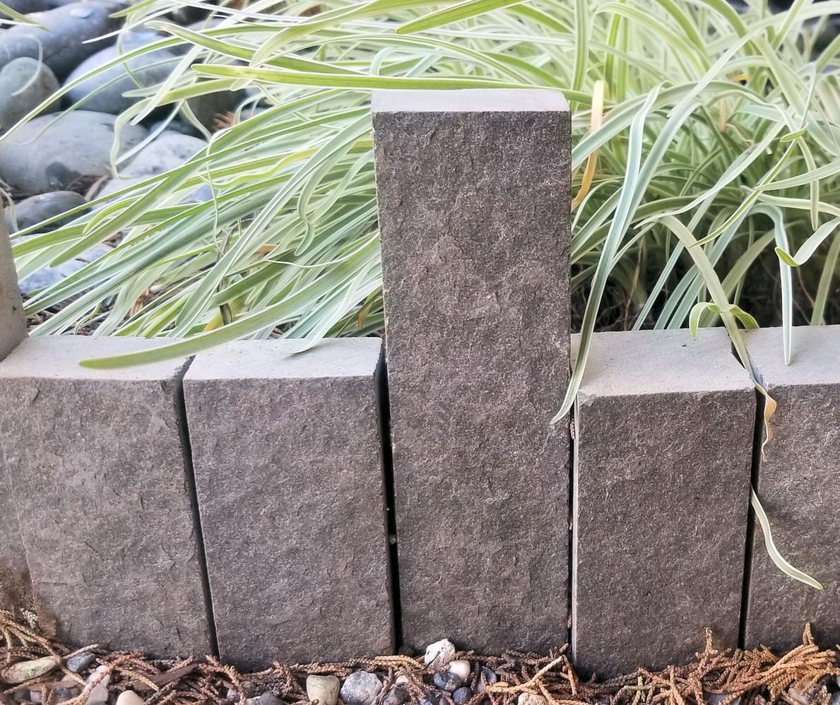 Basalt Stone Garden Dividers