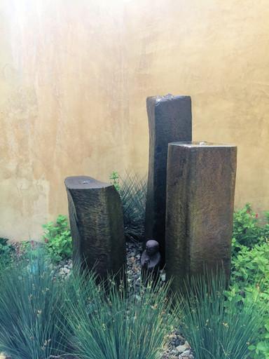 Basalt Column Trio