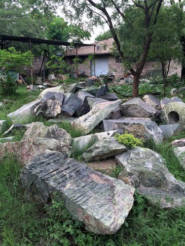 India workshop green marble rubble.jpg