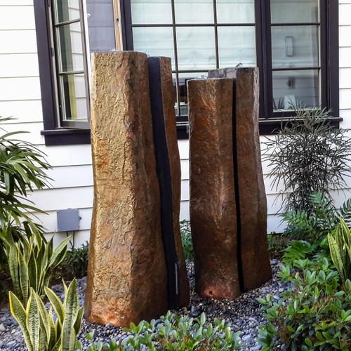 Split Basalt Columns