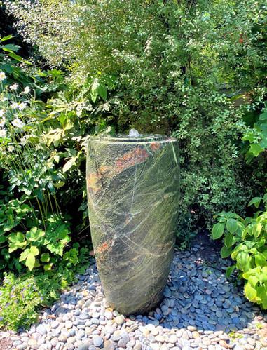 Green Marble Vase