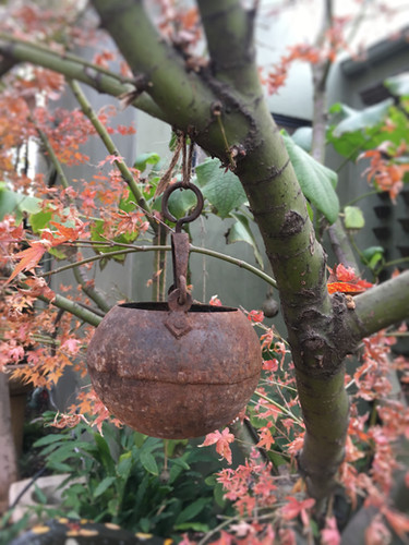 Small Iron Hanging Pot