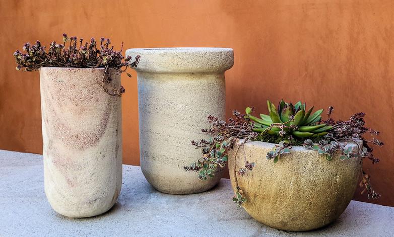 Limestone Planters