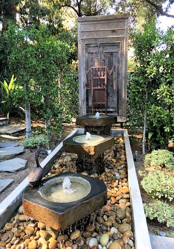 Rain Slab Fountains