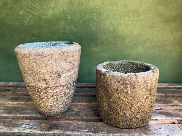 Old Granite Planters