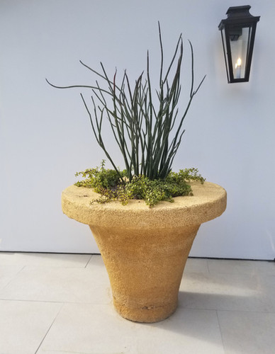 Stone Funnel Planter