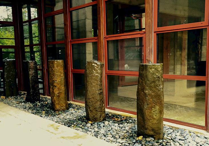 Natural Basalt Columns