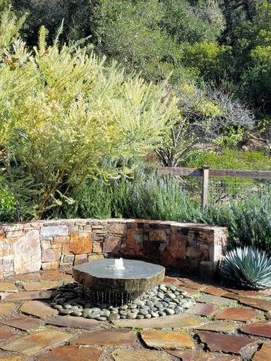 Rain Slab Fountain