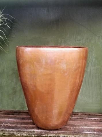 Open Copper Vase