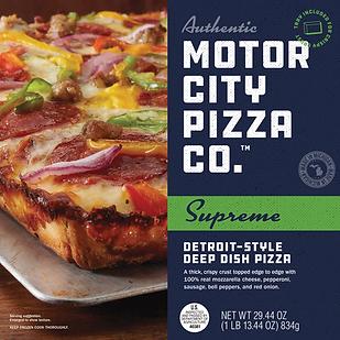 Motor City Pizza Co Supreme Box