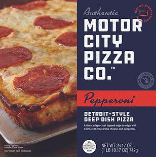 Motor City Pizza Co Pepperoni Box