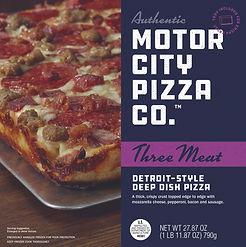 Motor City Pizza Co. | Three Meat Box